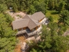 Georgian Bay Indian Harbour Muskoka Luxury Cottage 02 Arial View of Cottage