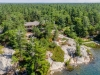 Georgian Bay Indian Harbour Muskoka Luxury Cottage 03 Gorgeous Granite Outcroppings and Windswept Trees