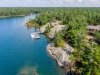 Georgian Bay Indian Harbour Muskoka Luxury Cottage 30 Cottage and one of the Docks