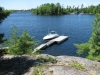 Honey-Harbour-Waterfront-Private-Lot-Cottage-Georgian-Bay-Muskoka - 14 - View of the Dock from the Lookout Rock