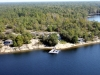 01. Honey-Harbour-Cottage-Georgian-Bay-Aerial-View-Overlooking-Recreational-Real-Estate-Family-Compound-Cottage-Guest-House-Workshop