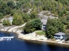 02. Honey-Harbour-Cottage-Georgian-Bay-Aerial-View-Overlooking-Recreational-Real-Estate-Family-Compound-Cottage-Workshop-Dry-Boathouse