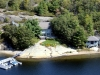 03. Honey-Harbour-Cottage-Georgian-Bay-Aerial-View-Overlooking-Recreational-Real-Estate-Family-Compound-Main-Cottage-Guest-House