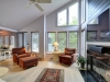 12. Honey-Harbour-Cottage-Georgian-Bay-Interior-Facing-Open-Concept-Living-Room-With-Large-Windows