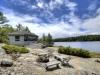 28. Georgian-Bay-Cottage-Honey-Harbour-Facing-Barefoot-Granite-Plateau-Wooden-Seats-Waterfront-Cabin-And-Inland-Channel