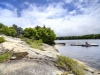 36. Georgian-Bay-Cottage-Honey-Harbour-Facing-Barefoot-Granite-Shoreline-With-Two-Storey-In-Forest-Along-Inland-Channel