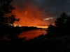 37. Honey-Harbour-Cottage-Georgian-Bay-Sunset-Inland-Waterway-Red-Cloud-Formation