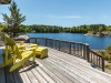 Honey Harbour Cognashene Georgian Bay Family Compound Cottage For Sale - 36 -Guest House Deck