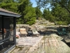MLS® 20090235 Sans Souci Cottage Sold By Rick Hill: Barefoot Granite Patio Meets Flagstone Patio Facing Canadian Shield Forest