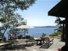MLS® 20090235 Sans Souci Cottage Sold By Rick Hill: Facing Georgian Bay From Barefoot Granite Outcropping And Flagstone Patio