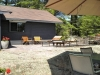 MLS® 20090235 Sans Souci Cottage Sold By Rick Hill: Facing Flagstone Patio Facing Cottage