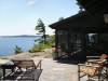 MLS® 20090235 Sans Souci Cottage Sold By Rick Hill: Facing Flagstone Patio Facing Georgian Bay And Sunroom / Porch