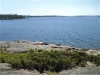 MLS® 20090235 Sans Souci Cottage Sold By Rick Hill: Facing Georgian Bay Canadian Shield Shoreline Barefoot Granite Outcropping With Juniper Bush
