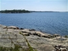 MLS® 20090235 Sans Souci Cottage Sold By Rick Hill: Facing Georgian Bay Canadian Shield Shoreline Barefoot Granite Outcropping