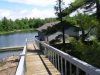 MLS® 20101643 Sans Souci Cottage For Sale: Facing Dock To Boathouse