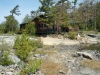 MLS® 20101643 Sans Souci, Georgian Bay Cottage For Sale: Canadian Shield Facing Rear In Forest