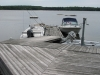 Dock-Platform-Area-Facing-Dock-With-Boats-At-Honey-Harbour-Cottage-Little-Beausoleil-Island-Georgian-Bay