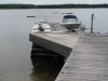Facing-Dock-With-Boats-At-Honey-Harbour-Cottage-Little-Beausoleil-Island-Georgian-Bay