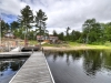 Georgian-Bay-Honey-Harbour-Cottage-And-Cabin-From-End-Of-Extended-Dock