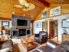 Honey-Harbour-Georgian-Bay-Cottage-Facing-Interior-Living-Room-Siting-Area-Fireplace-Giant-Screen-TV