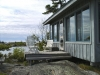 MLS® 20101311 Facing Cottage Side Deck Door: Sans Souci, Georgian Bay