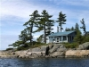 MLS® 20101311 Facing Waterfront Cabin Sans Souci, Georgian Bay: View Of Rock Face Wind-swept-Pines