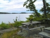 MLS® 20101311 Sans-Souci Georgian Bay Coastline View With Picnic Table:  Cottage For Sale