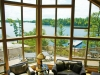 Georgian Bay Shore Muskoka Ontario Spacious Cottage 10 Floor to Ceiling Glass for Views