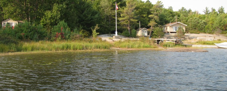 Honey Harbour Waterfront Cabin For Sale
