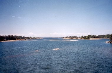 View od the Inland Waterway