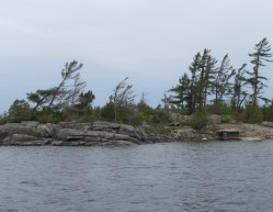 Island B425 Sans Souci Georgian Bay Archipelago Ontario 99 Back of the Island Featured Image