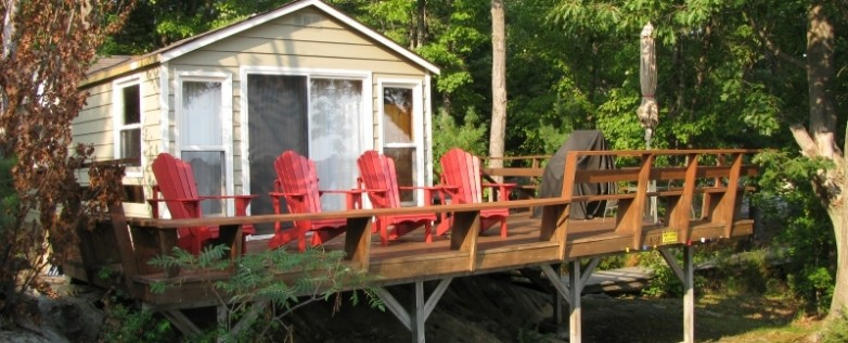 MLS-20140048-Honey-Harbour-Waterfront-Property-Georgian-Bay-Facing-Honey-Harbour-Cabin-Front-Deck